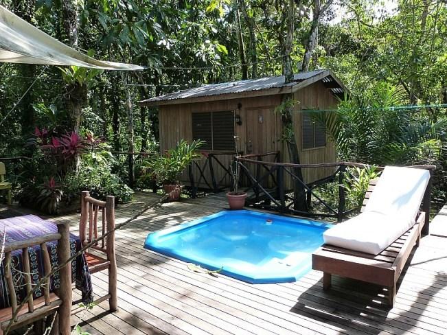 Hotel Kangaroo in Rio Dulce, Guatemala