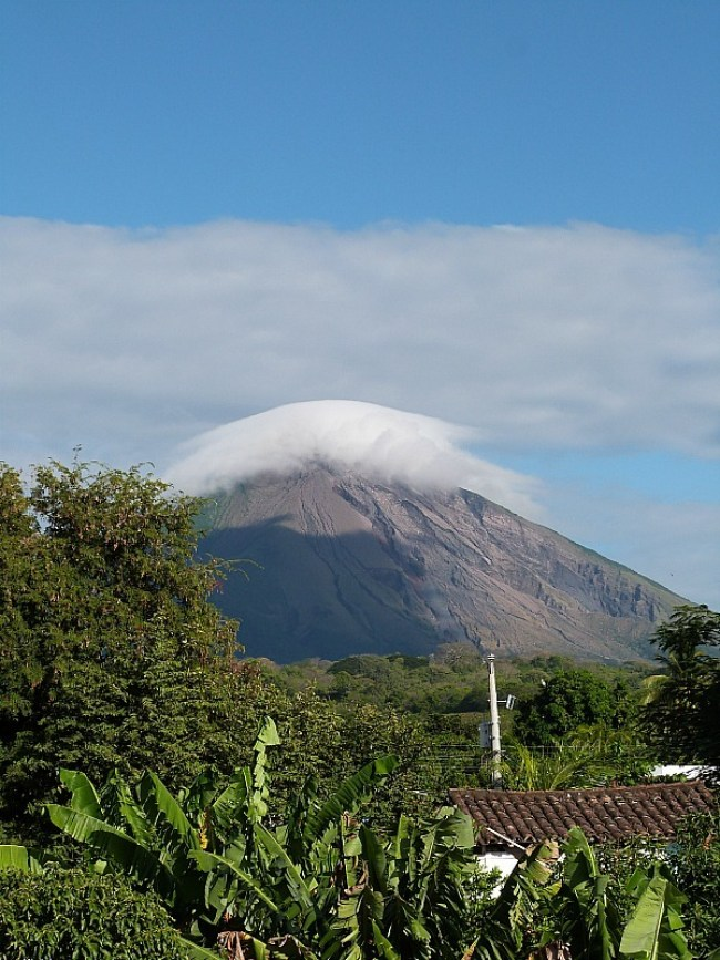 View of Volcan Conception on Ometepe, Nicaragua