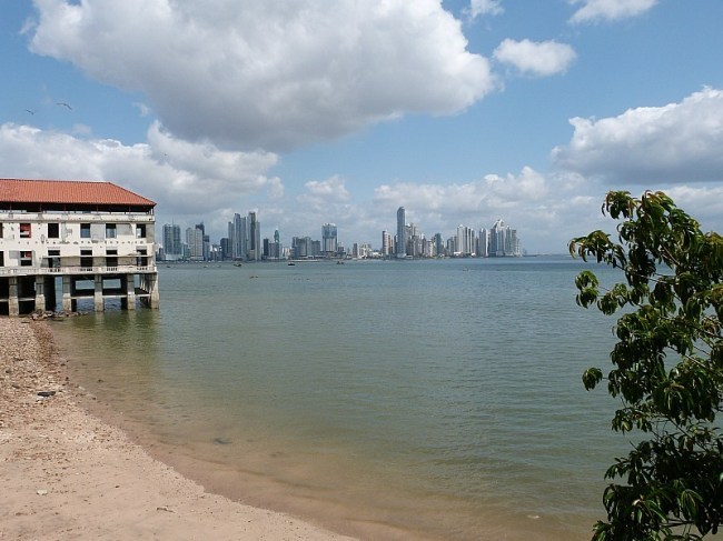View over to Panama City
