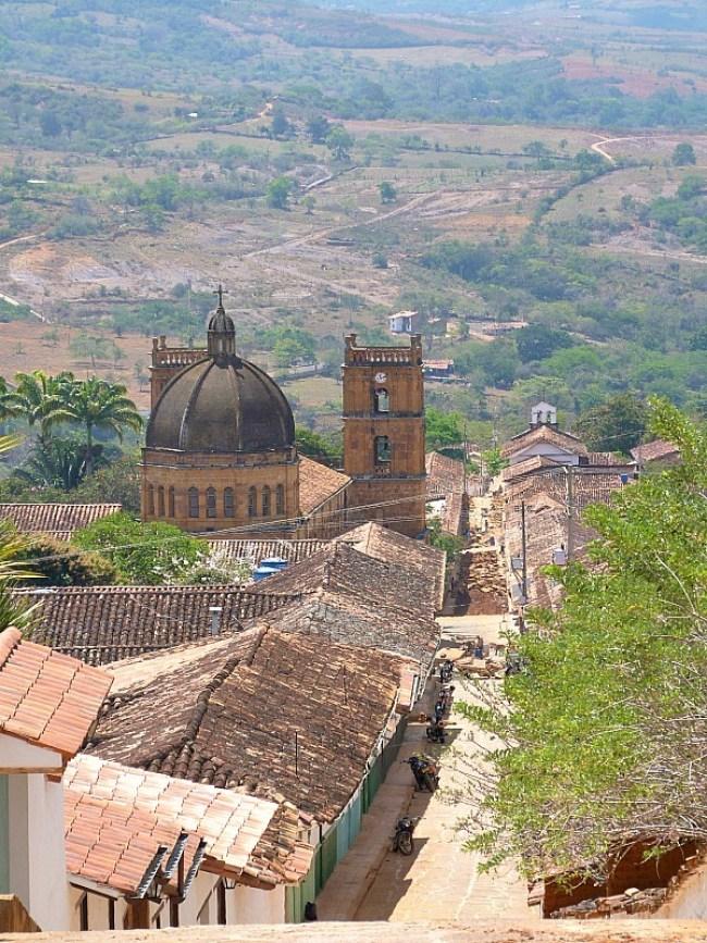 Beautiful Barichara in Colombia
