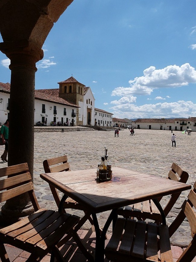 Main Square in Villa de Leyva, Colombia