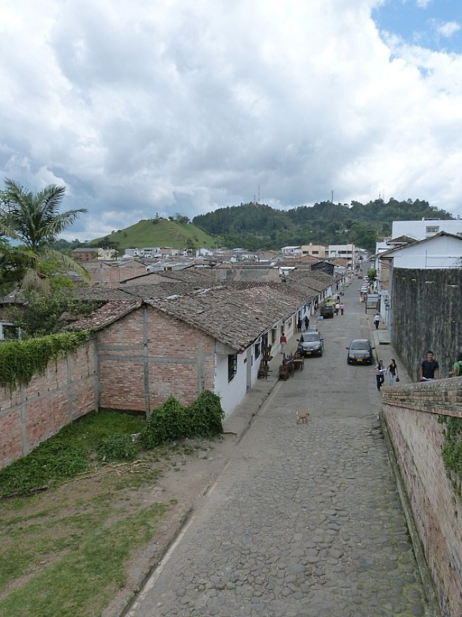 Popayan in the Coffee Region of Colombia