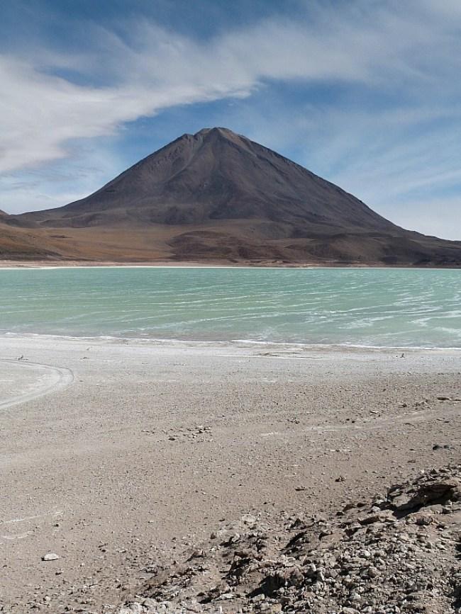 Laguna Verde in remote South West Bolivia