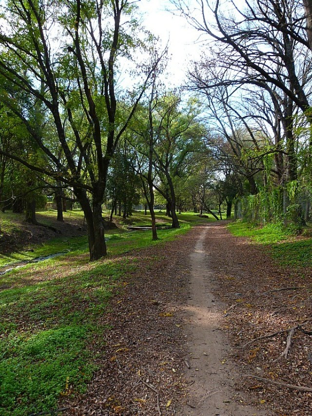 Walking trail in Villa General Belgrano in Northern Argentina