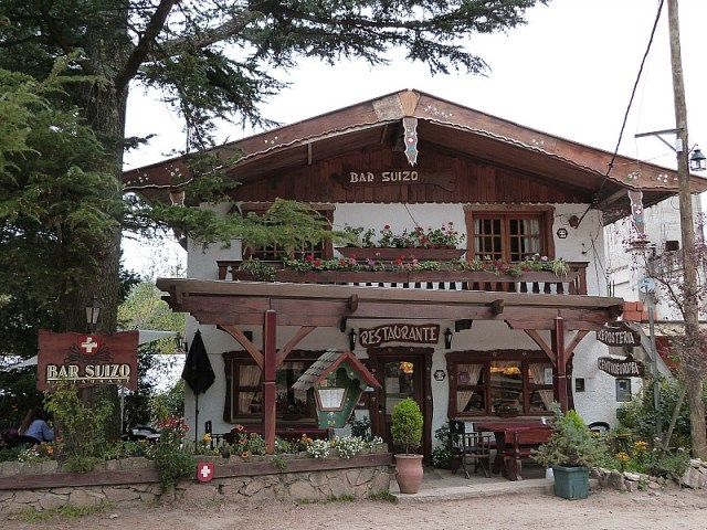 Swiss Restaurant in La Cumbrecita, Northern Argentina