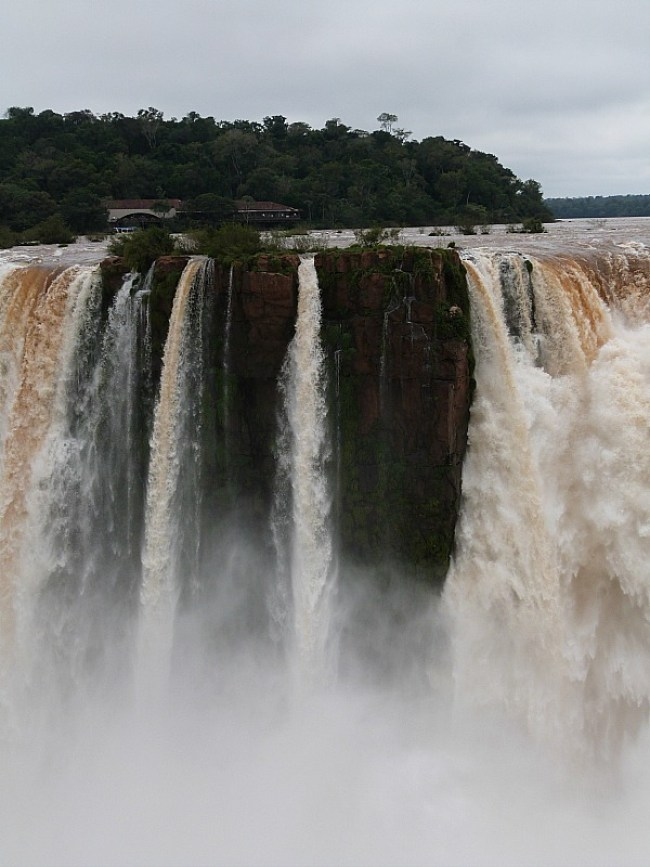 Iguazu Falls in Northern Argentina