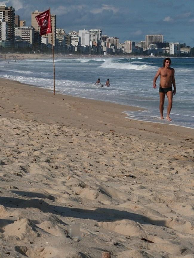 Copacabana Beach in Rio