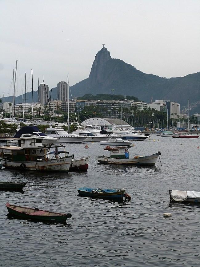The harbour in Urca, Rio de Janeiro