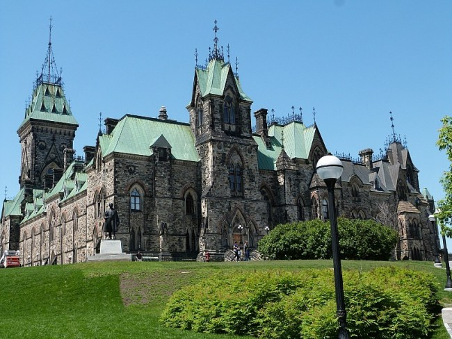 Beautiful building in Ottawa, Ontario