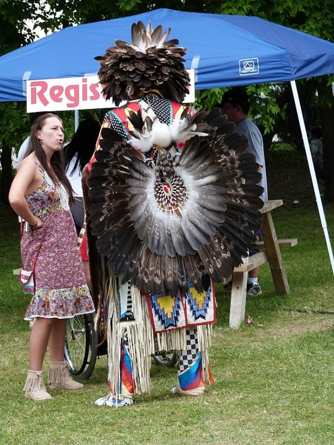 Attending a Pow Wow in Fredericton, New Brunswick
