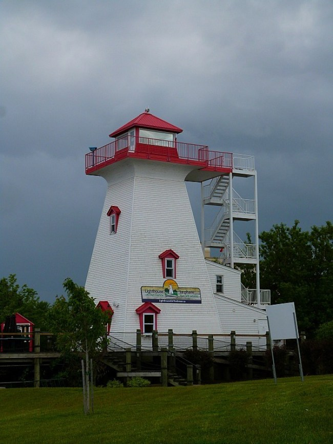 Lighthouse in Fredericton, New Brunswick