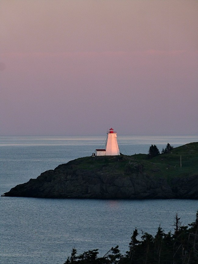 Sunset over Swallowtail Lighthouse on Grand Manan Island