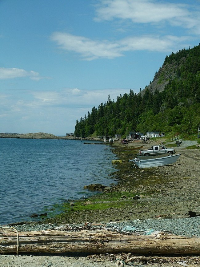 Dark Harbour on Grand Manan Island