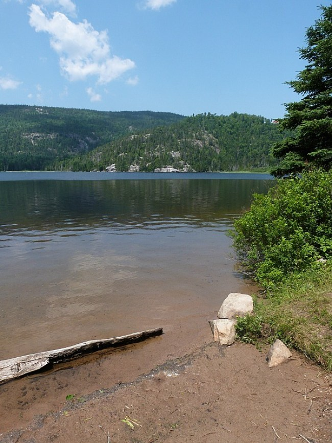 Lake in Tadoussac, Quebec