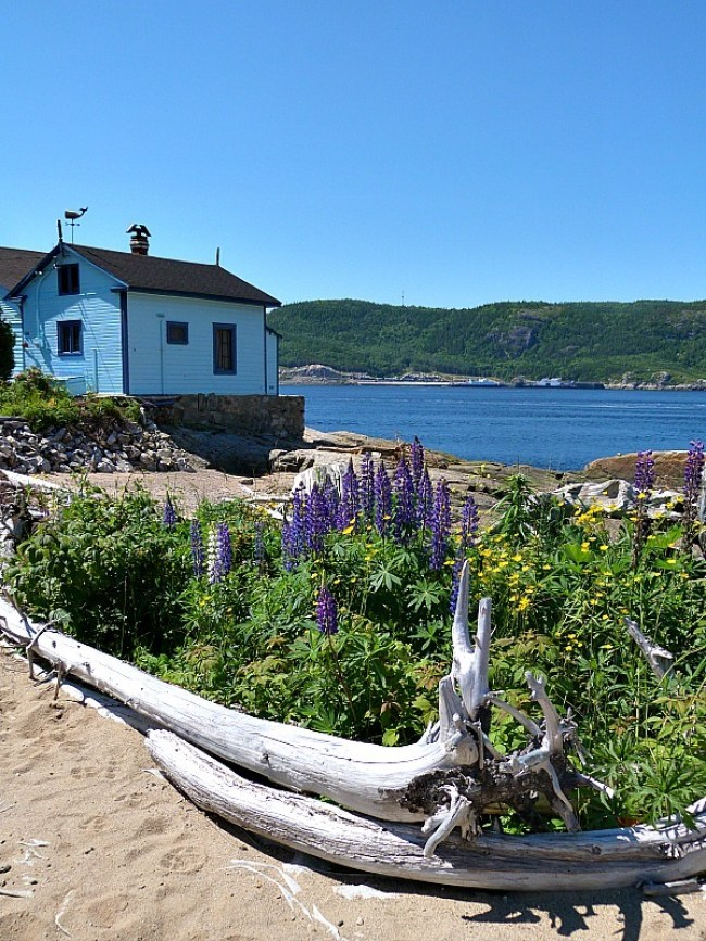 The stunning coastline of Tadoussac, Quebec