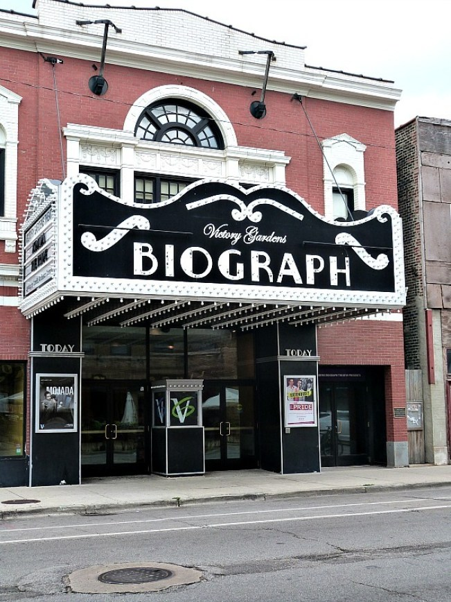 The Biograph Theatre in Chicago
