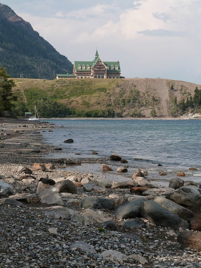 Prince of Wales Hotel in Waterton Lakes National Park - a must do stop on a Rocky Mountain road trip