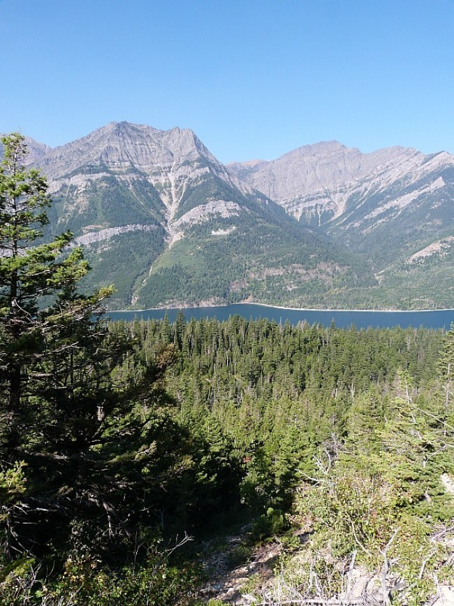 Views from the Crypt Lake Hike in Waterton Lakes National Park, Canada