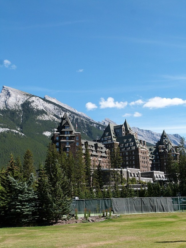 The Fairmont Hotel in Banff National Park, Canada - a Rocky Mountain Road Trip must