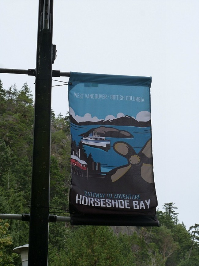 Heading to Vancouver Island on the Horseshoe Bay ferry after our Help X Nightmare