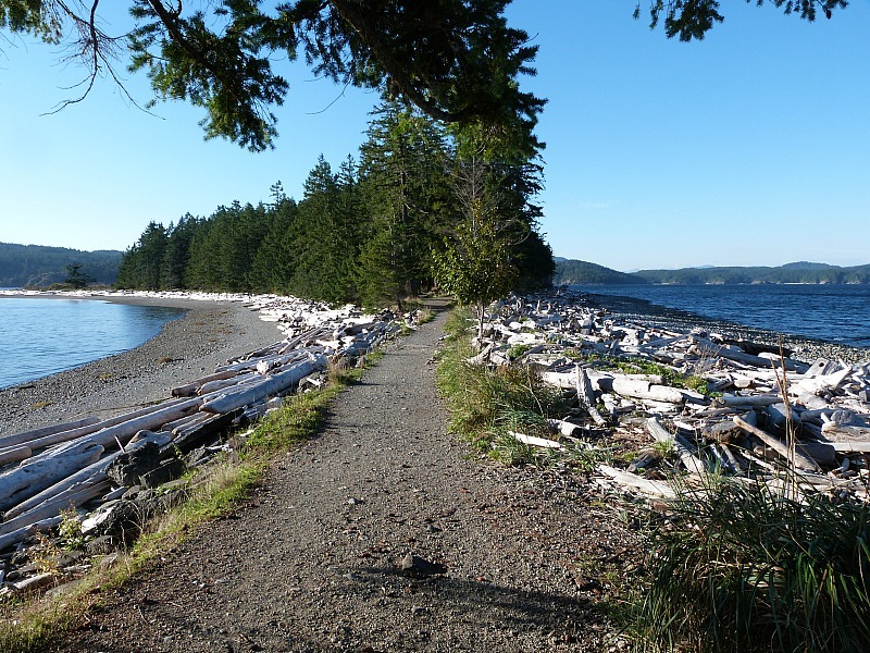 Impossibly beautiful Quadra Island