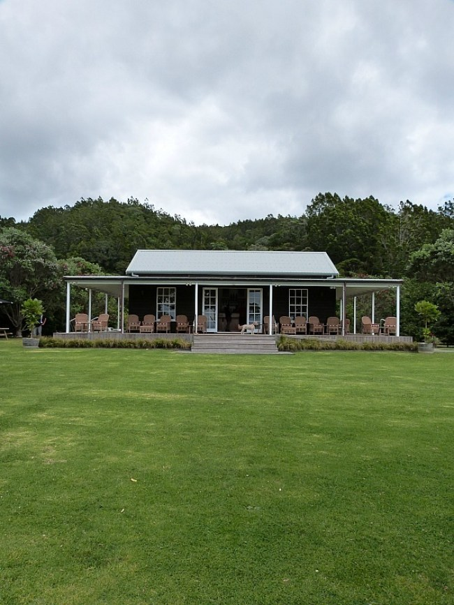 Man O War Winery on Waiheke Island in Auckland