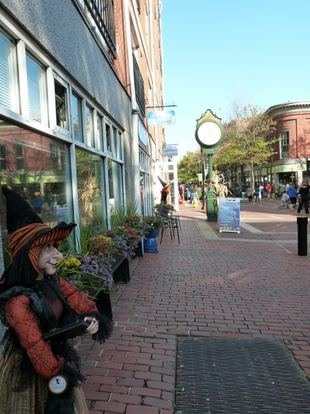 Salem comes alive in October - a great reason to experience fall in North America