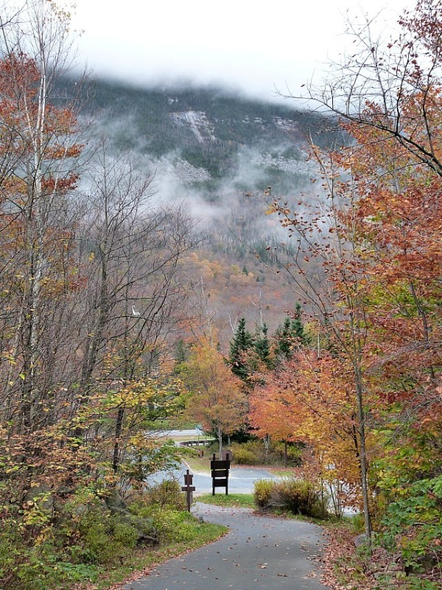 Beautiful New England in fall - one of the reasons to experience fall in north america