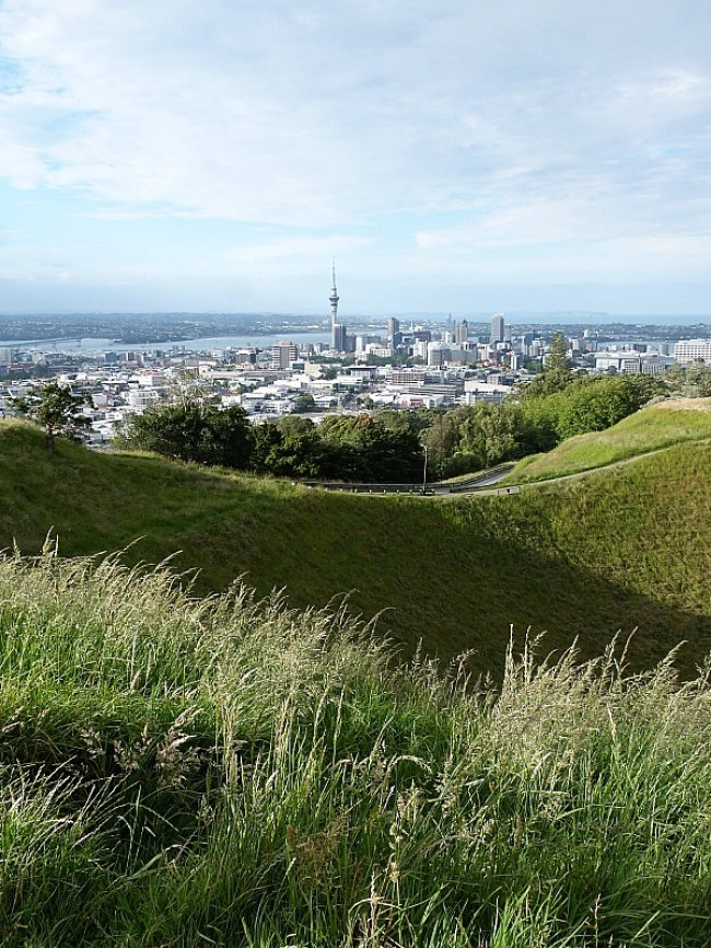 Climbing Mt Eden - one of the Best Days out in Auckland New Zealand
