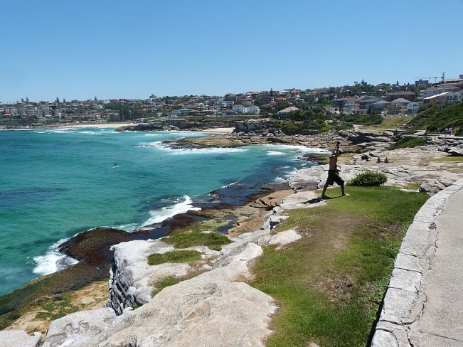 Walking the Bondi to Coogee walk in Sydney's Eastern Beaches
