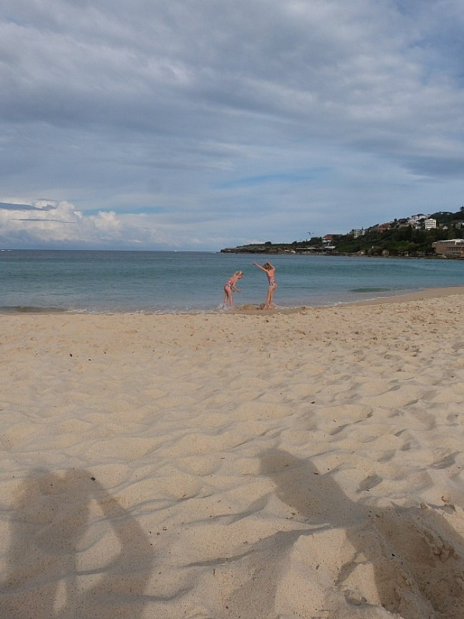 Hanging out at Coogee Beach on Sydney's Eastern Beach
