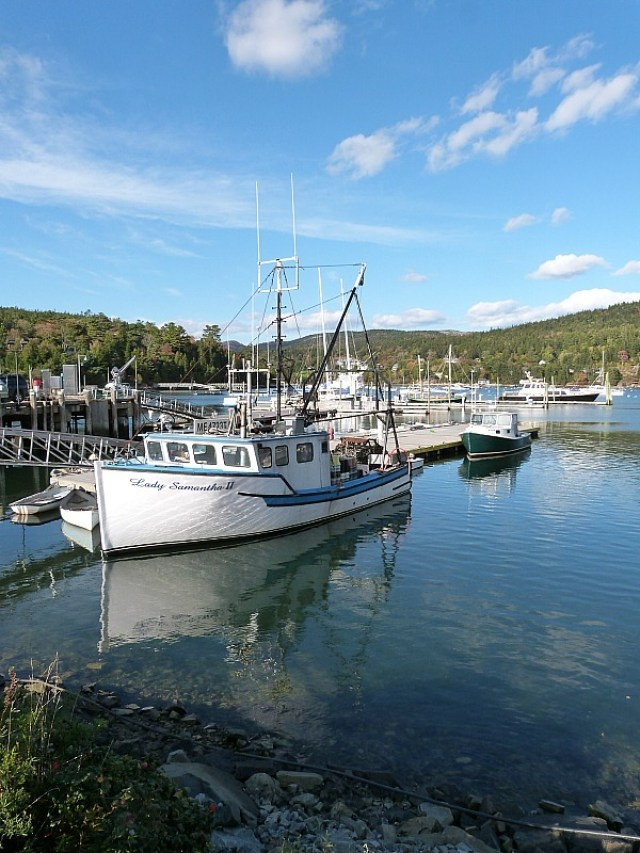 South West Harbor on Mount Desert Island, Maine