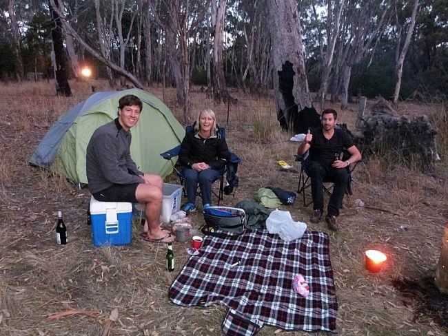 Camping in Grampians National Park, Victoria