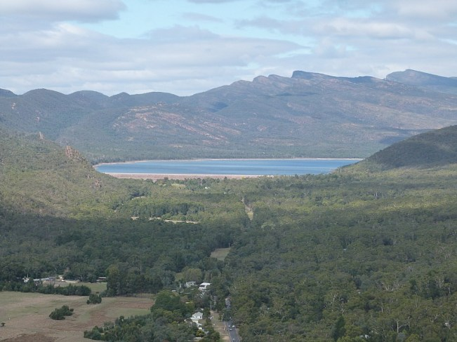 View from Chatauqua Peak in Grampians National Park, Australia