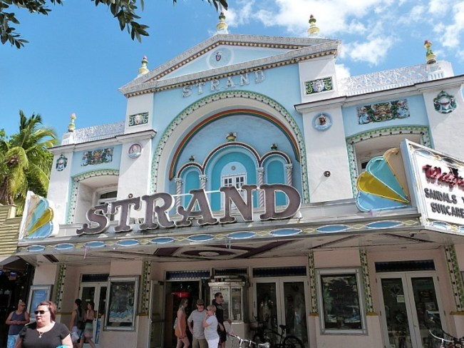 The Strand in Key West Florida