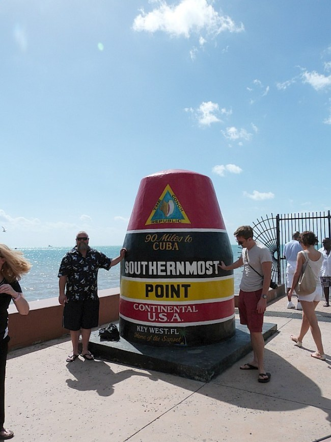 Southernmost Point Buoy in Key West Florida