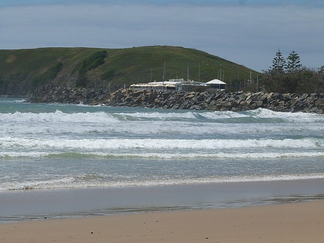 Coffs Harbour beach, Australia