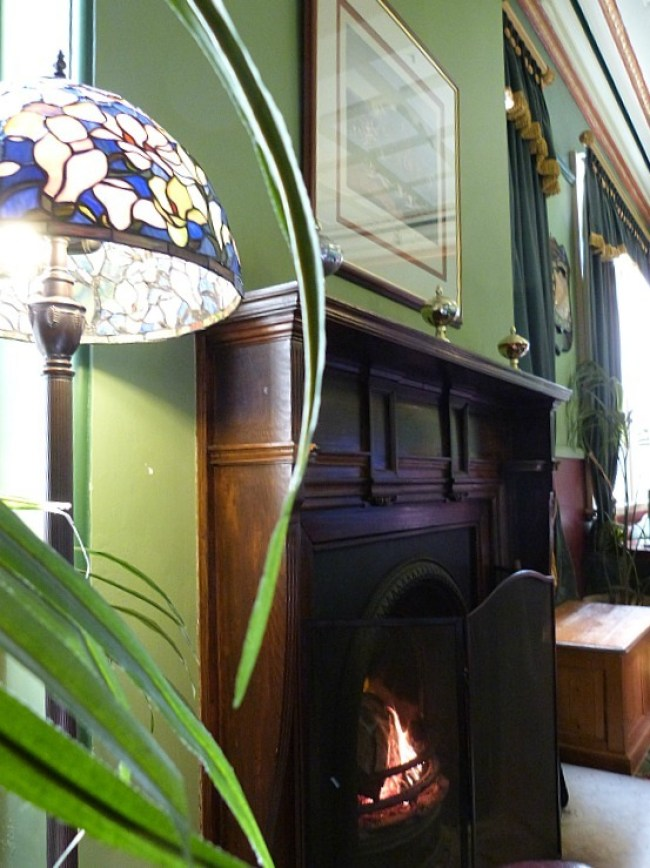 Inside the Carrington Hotel in Katoomba, Australia