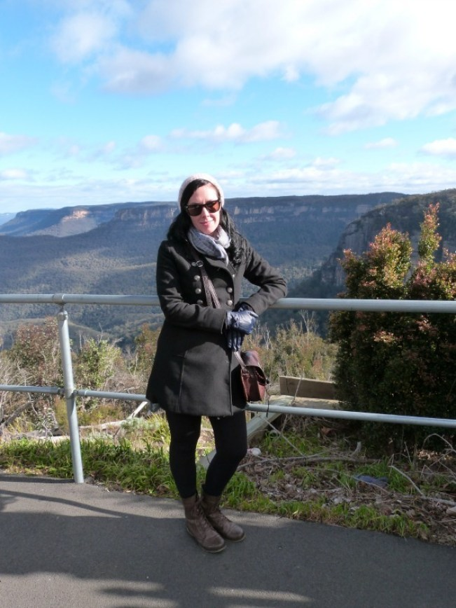 Amazing views in the Blue Mountains of Australia