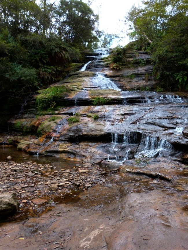 Katoomba Falls in the Blue Mountains of Australia