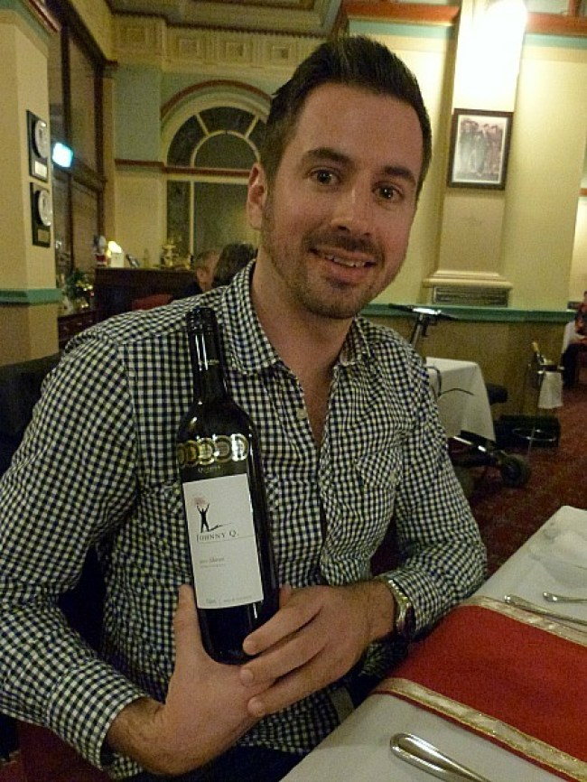 Winning wine at Yulefest celebrations in the Blue Mountains