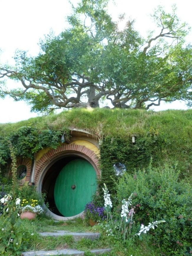 Bag End at Hobbiton New Zealand