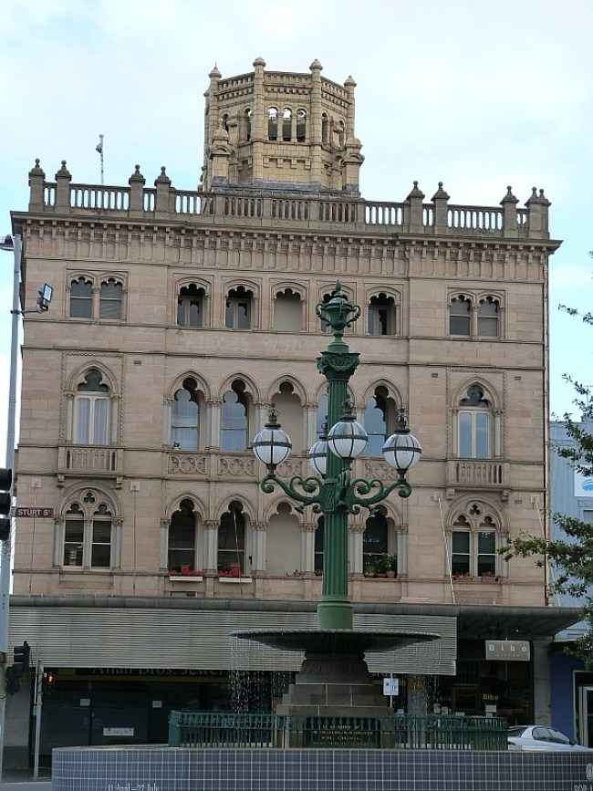 Beautiful old buildings in Ballarat, Australia