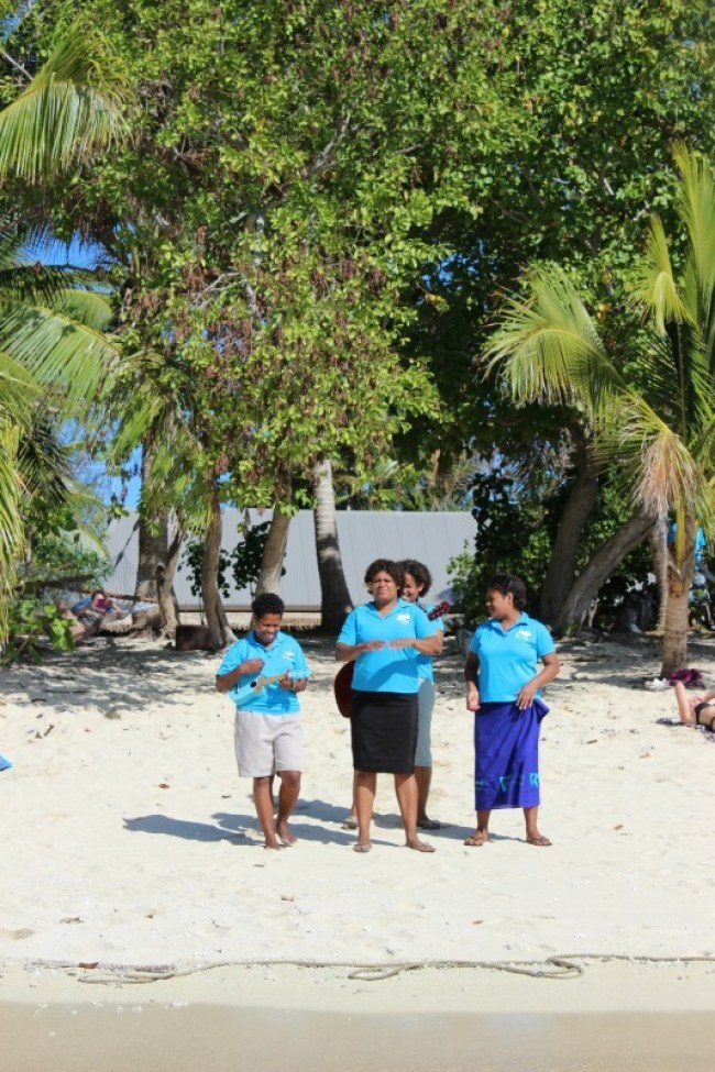 Welcome to Barefoot Island in Fiji