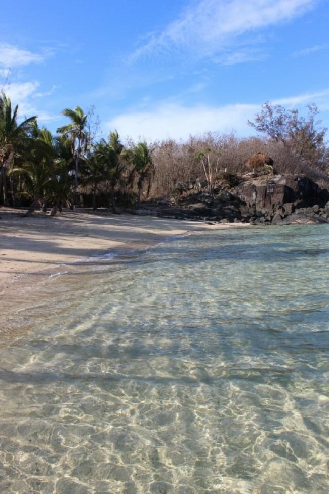Beautiful beaches on Barefoot Island in the Yasawa Islands of Fiji