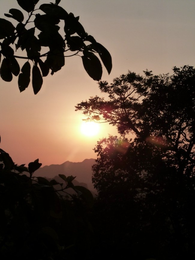 Sunset in Minca, Colombia - one of the 10 Best Offbeat Places in South America