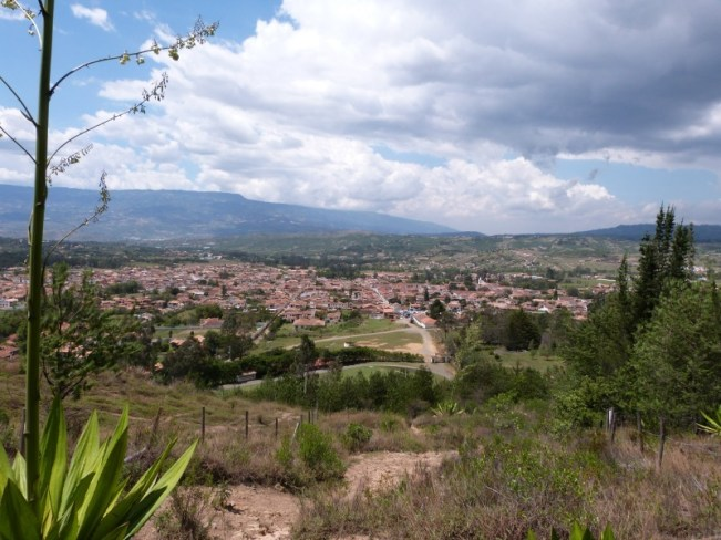 Enjoying the view over Villa de Leyva, Colombia - one of the 10 Best Offbeat Places in South America