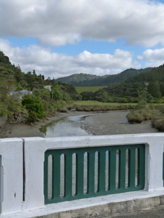 Starting our section of the Hillary Trail in Huia on Auckland's West Coast
