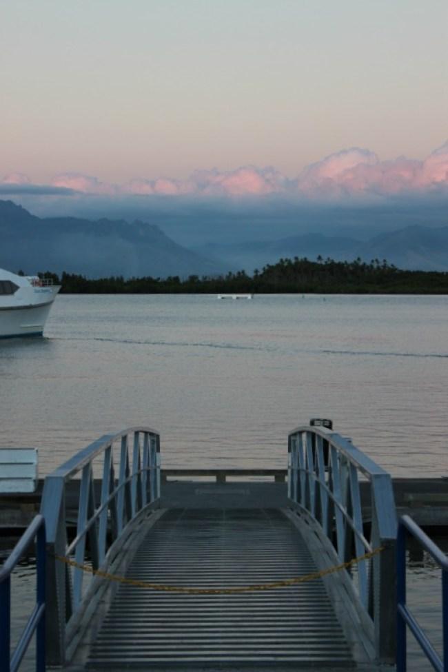 Port Denarau in Nadi, Fiji