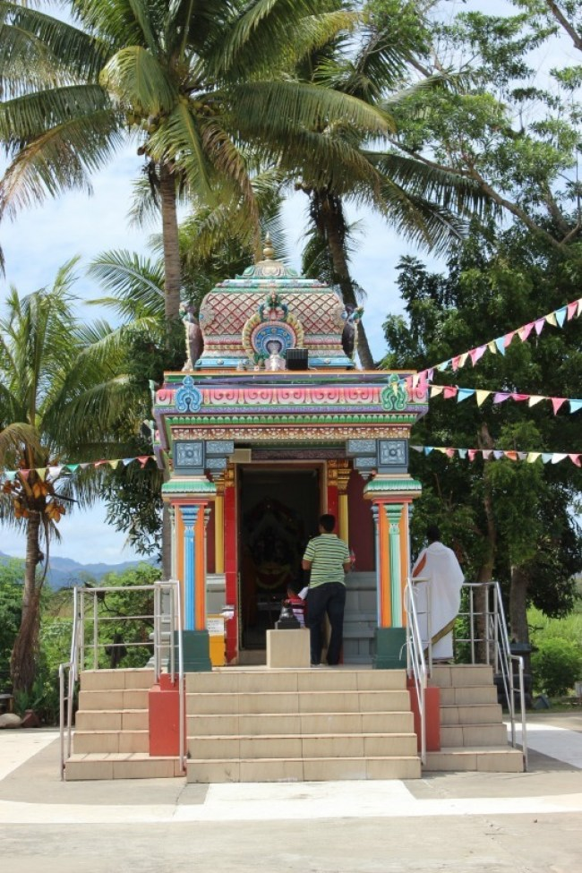 Visiting the Sri Siva Subramaniya Temple in Nadi as part of our half day Nadi tour